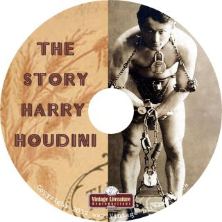 Story of The Harry Houdini Vintage Books Magic Phorographs and Movies