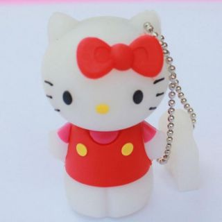 3d 8gb hello kitty usb 2 0 flash drive u disk memory pen drive pink