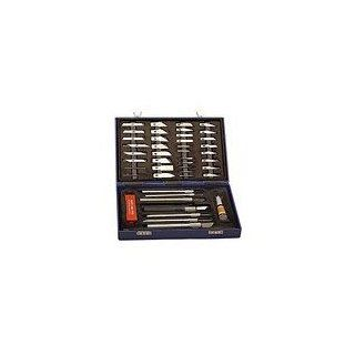 Hobby Knife Set 48 Piece Wood Carving Kit Balsa Craft X Tools