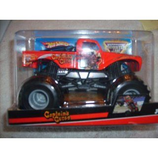 Hot Wheels Monster Jam 124 Scale Captains Curse Toys