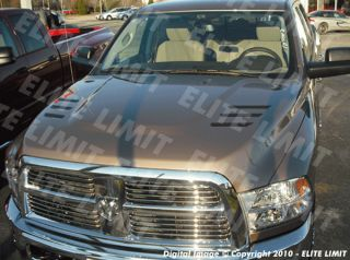 2011 Hood Decals Stripes Stickers Dodge RAM 2500 3500 Truck