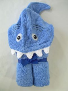 New Kids Towel Monster Shark Flower Princess Hooded Bath Beach Towels