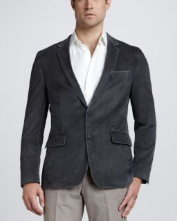 Brunello Cucinelli Thermore Fill Jacket, Windowpane Check Sport Coat
