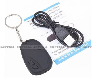 Mini 808 Car Key Chain Hidden Camera Digital Video Recorder Card New