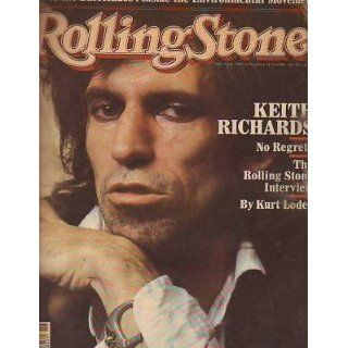 1981 Rolling Stone November 12  Keith Richards; Pointer