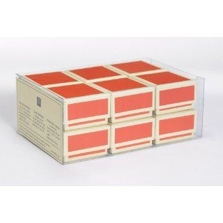 Gift Box Set by Semikolon (Pierre Belvedere) in Orange