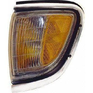95 97 TOYOTA TACOMA CORNER LIGHT LH (DRIVER SIDE) TRUCK, With Chrome