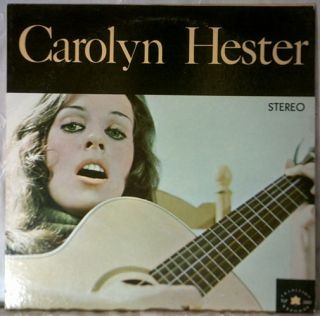 Carolyn Hester   Self Titled Album   1961   STEREO   Vinyl   LP