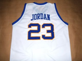 MICHAEL JORDAN LANEY HIGH SCHOOL JERSEY WHITE NEW ANY SIZE FDO