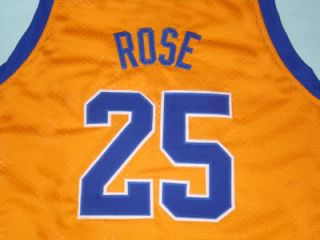 DERRICK ROSE SIMEON HIGH SCHOOL JERSEY YELLOW NEW ANY SIZE DZH