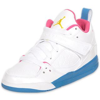 Jordan Flight 45 High Preschool Girls Basketball Shoes