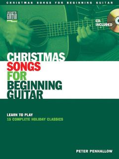 Christmas Songs for Beginning Guitar Learn Play Book CD