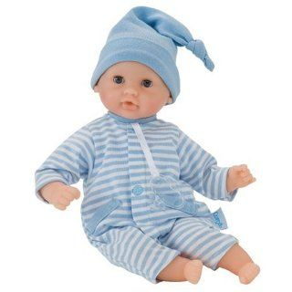 Corolle Mon Premier Calin Blue Striped   12 Doll Toys