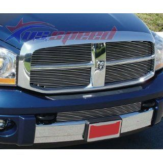 2006 2008 Dodge Ram Polished Billet Grille 4PC