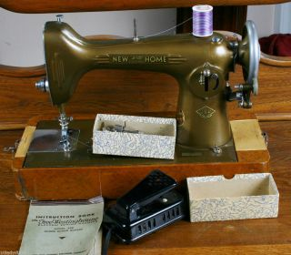 Vintage Free Westinghouse New Home Electric Sewing Machine