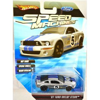 Hot Wheels Speed Machines ´07 Ford Shelby GT500 SILVER 1