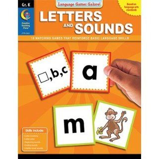 Creative Teaching Press CTP6365 Letters And Sounds Gr K
