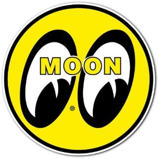 Moon Eyes Hot Rod Racing Car Bumper Sticker Decal 4x4