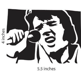 Elvis Presley 68 Comeback Cut Vinyl Decal Portrait