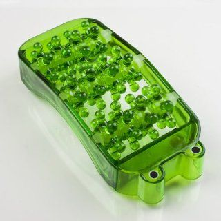 YKS Green Frog Plastic Foot Roller Relax Massager Health