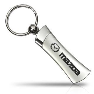Mazda Logo Blade Style Metal Key Chain, Official Licensed