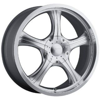Platinum Attitude Type 82/83 FWD Silver Wheel with Diamond Cut Lip