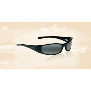 Jim Hoku Sunglasses Classic   Glass, 106 02 Gloss Black Grey Clothing