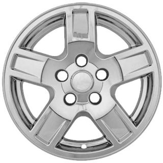 Jeep Grand Cherokee Wheel Skin 4 PC Set of 17 inch Hub Cap Chrome Rim