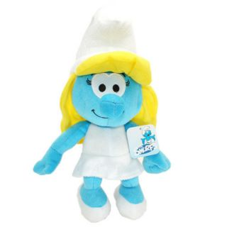 14 Big The Smurfs Smurf Plush Toy Smurfette Stuffed Animal Brand New
