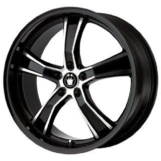 Konig Airstrike Gloss Black Machined Wheel (18x8/5x114.3mm)