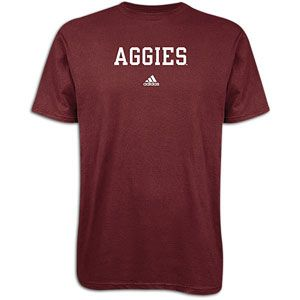 adidas College School Block T Shirt   Mens   For All Sports   Fan