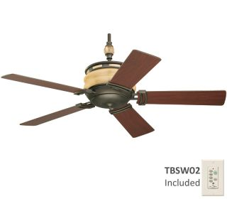 Tommy Bahama Colonial Bay Oil Rubbed Bronze Ceiling Fan