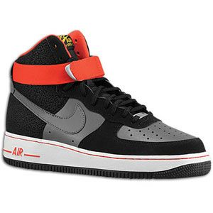 Nike Air Force 1 High   Mens   Basketball   Shoes   Black/Dark Grey