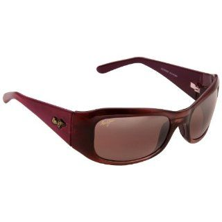 Maui Jim Hibiscus 134 Sunglasses Color Burgundy/Rose Lens