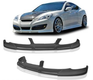 Fit for 10 11 12 Hyundai Genesis Coupe PD Front Bumper Lip Spoiler