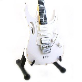 MINIATURE GUITAR STEVE VAI IBANEZ JEM EVO 25TH TREE OF LIFE RELIC FREE