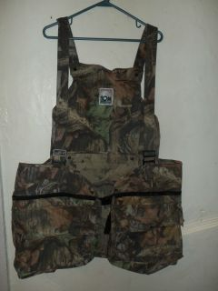 Advantage Timber Camouflage Vest Back Pack Game Pouch