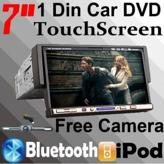 Cheapest Single DIN 7 in Dash Car Stereo DVD Player TV iPod BT Radio