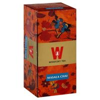 Wissotzky Masala Chai Black Tea Box of 25 Bags Gourmet
