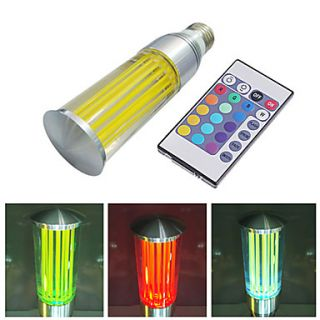 USD $ 46.79   E27 3W 180 200LM 16 Colors RGB Light LED Candle Bulb