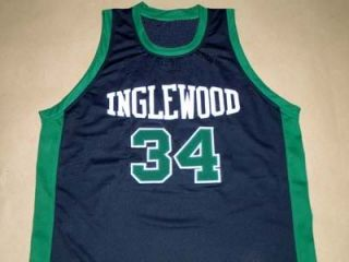 Paul Pierce Inglewood High School Jersey Black New Any Size FDX