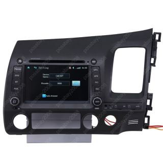 Drive Honda Civic Car GPS Navigation iPod Radio TV DVD  Aux