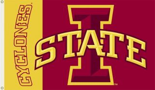 Iowa State Cyclones 3x5 Flag With Metal Grommets ISU Flag Durable