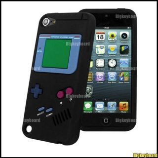 Game Boy Silicone Case Cover Skin for Apple iPod Touch 5 5g 5th