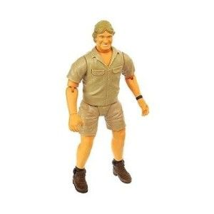 Steve Irwin Talking Action Figure Doll Wildlife Adventure Crocodile
