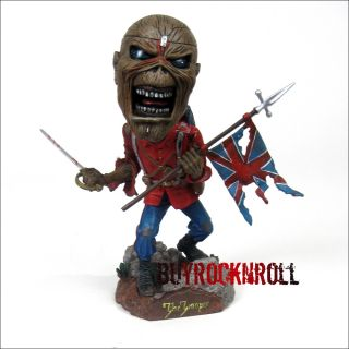 2011 NECA Iron Maiden Eddie THE TROOPER Head Knocker (LP Album Figure