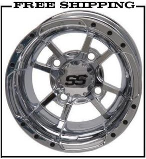 ITP SS112 Rims Yamaha Raptor 700 Front Rear Chrome