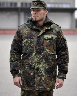 German Army Field Jacket Parka Flecktarn Camo New Unissued