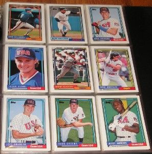 1992 Topps Traded Complete Sets Mint in Binder Nomar
