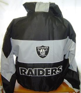 Oakland Raiders NFL Jacket Jeff Hamilton Large